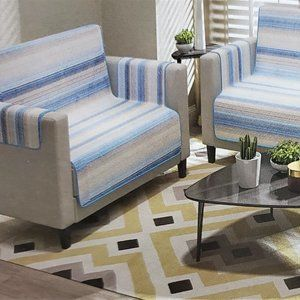 Sofa Cover or Couch Cover Reversible 3 piece Set